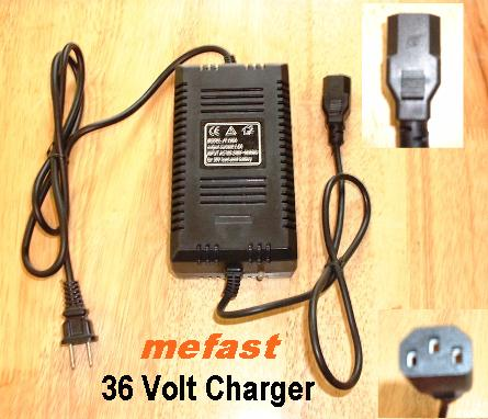 36 Volt Electric Scooter Charger