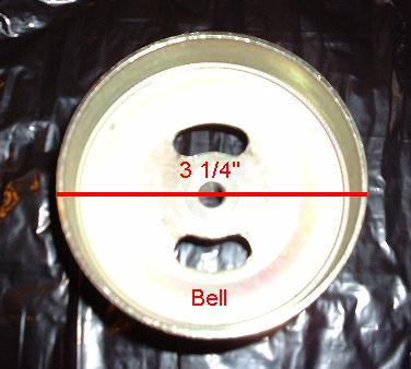 Bell for 47cc Clutch