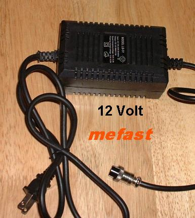 12 Volt Pocketbike Charger