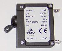 Generator Circuit Breaker 18.8 amps