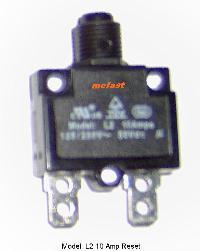 Model L2 10 Amp                   Reset