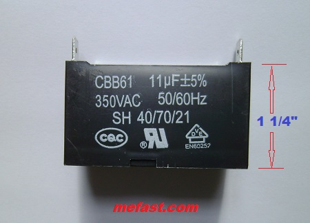 Generator Parts Truelife Generator Parts Cbb61 Capacitor