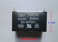 Capacitor 11uF 350VAC Lonch