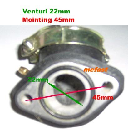 50cc Intake Specs