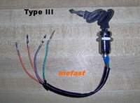 4 wire key switch