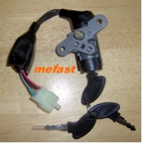Moped key switch