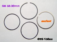 GY6 150cc rings