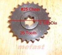Sprocket #25 25 tooth