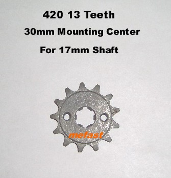 420 13 Tooth Sprocket