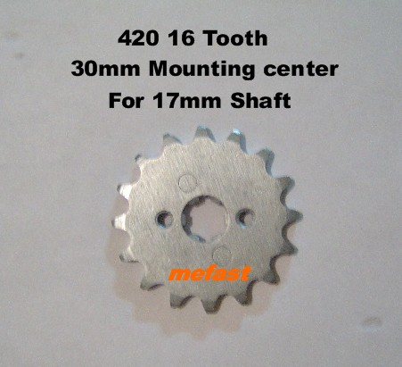 420 16 Tooth Sprocket