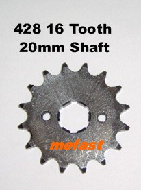 428 Sprocket 16 tooth
