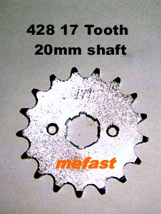428 17 Tooth Sprocket