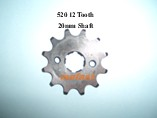 520 Sprocket 12 Tooth