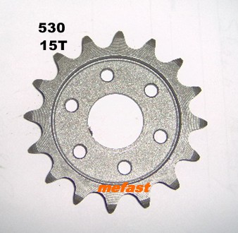 15 Tooth 530 sprocket