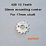 420 12 Tooth 17mm shaft