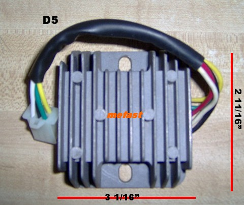 ATV Voltage regulator D-5