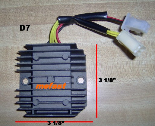 Scooter Voltage Regulator D7