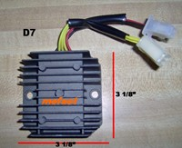 D7 250 Scooter Voltage Regulator