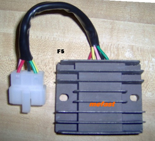 Motorcycle voltage regulator F-5