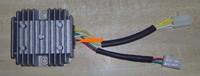 Motorcycle voltage regulator