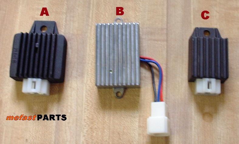 rectifiers , motorcycle voltage regulator