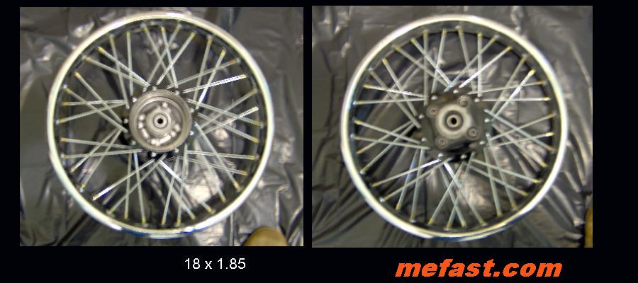 18 x 185 Dirtbike Wheel