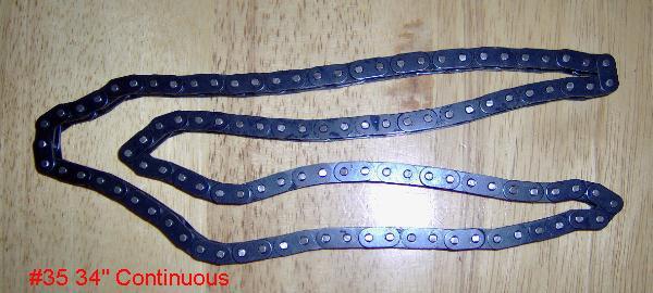 """#35 34"""" Chain"""