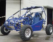 Blue Go Kart