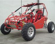 Red go kart GK-06