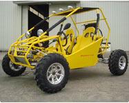 Yellow Go Kart Roketa