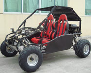 Black 250cc Go Kart GK-13B