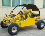 Yellow 250cc Go Kart Roketa GK-13B