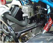 generic 250cc water cooled go kart
