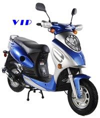 Blue 50cc VIP Scooter