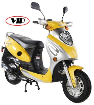 Yellow VIP Scooter