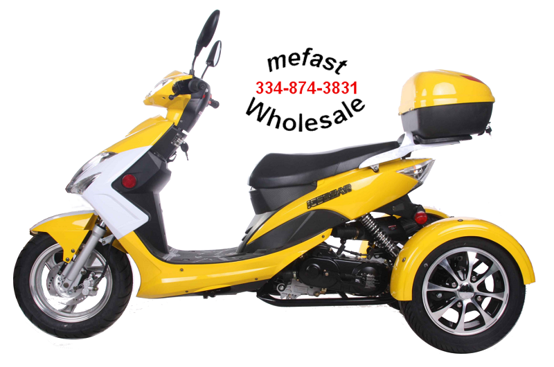 Wholesale 50cc Trike PTX50-16