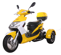 Side view 50cc trike