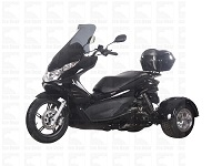 50cc Scooter Trike Q6