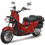 150cc           Scooter Rowdy