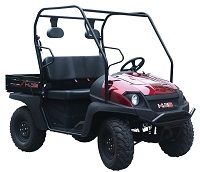 UTV With easy loading rear seat option