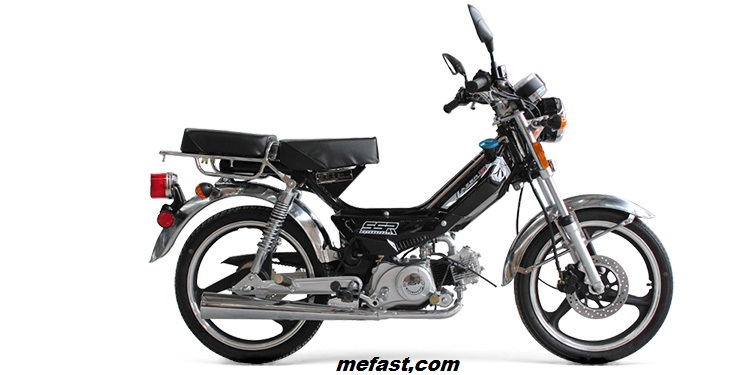 Pedal Moped Lazer 5 49cc Engine Save Money On Fuel
