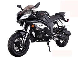 50cc                   scooter racer black