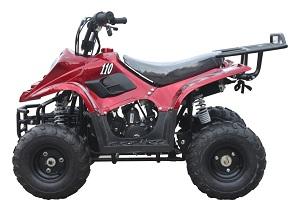 110cc Red ATV-06