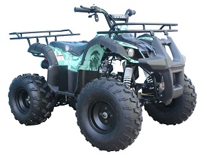 110cc ATV-08 Barb Wire Green