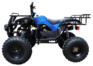 150cc ATV Left side view