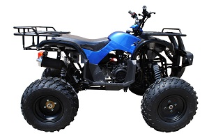 150cc ATV Right side Blue