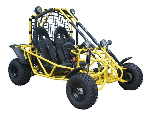 Veloz 150cc Go kart Spider 150 Yellow