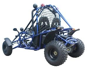 Velos spider 150cc Gokart rear view Blue
