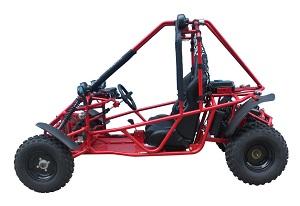Veloz 150cc Go kart Spider side view ,red