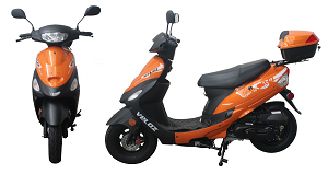 Orange Scoot 50